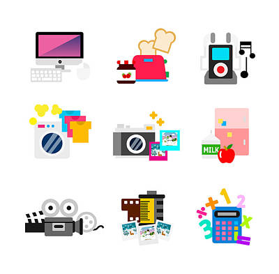 Electronic Devices Items Poster