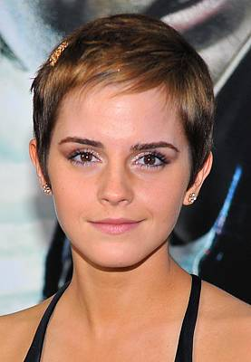 Emma Watson At Arrivals For Harry Poster