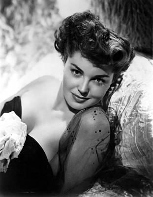 Esther Williams, Portrait Poster by Everett