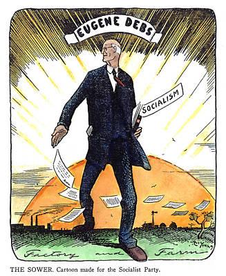 Eugene Debs (1855-1926) Poster