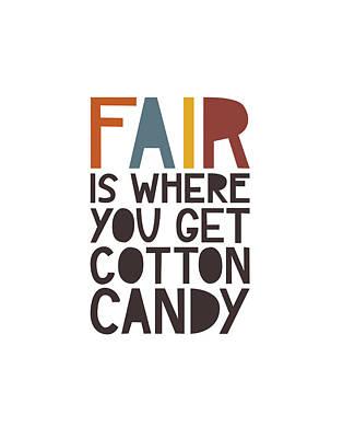 Fair Poster by Megan Romo