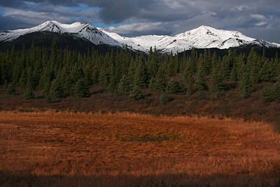 Fall In Alaska Poster