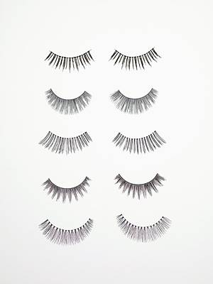 False Eyelashes Poster by Tek Image