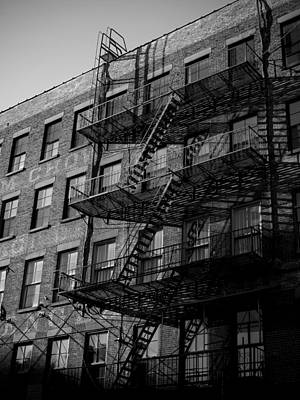 Fire Escapes Poster