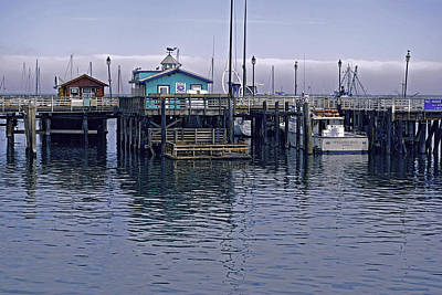 Fishermans Warf Monterey Poster