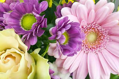 Floral Spring Background Poster