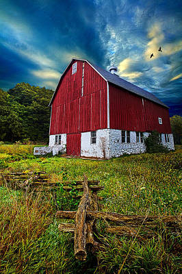 Fly Over Country Poster by Phil Koch