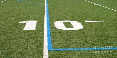 Poster featuring the photograph Football Field Ten by Henrik Lehnerer
