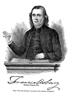 Francis Asbury (1745-1816) Poster by Granger