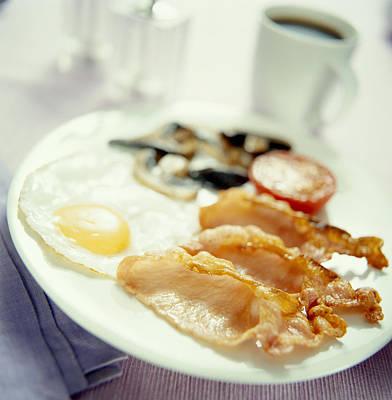 Fried Breakfast Poster