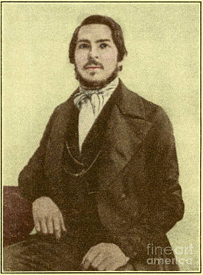 Friedrich Engels, Father Of Communism Poster
