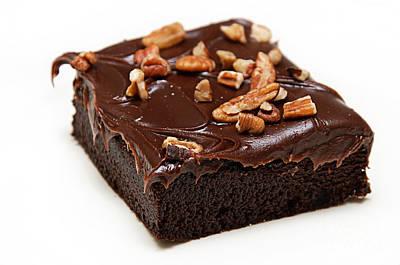 Fudge Nut Brownie Poster