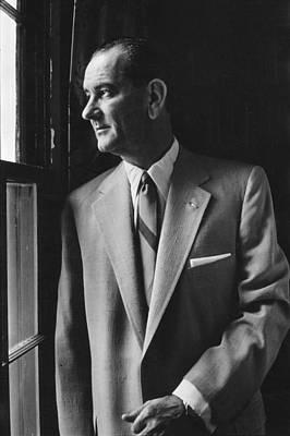 Future President Lyndon Johnson Poster