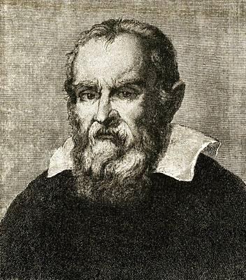 Galileo Galilei, Italian Astronomer Poster