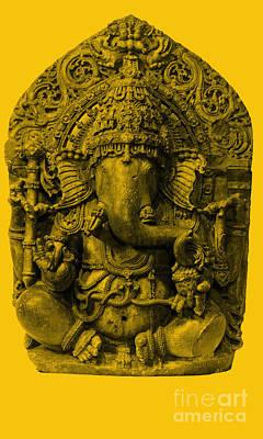 Ganesha, Hindu God Poster by Photo Researchers