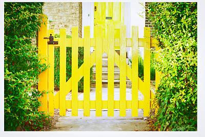 Garden Gate Poster by Tom Gowanlock