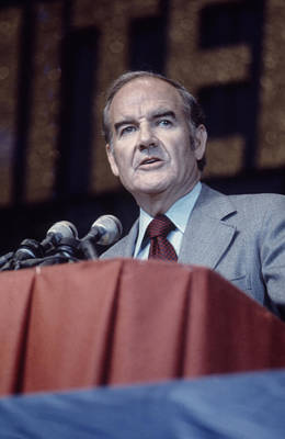 George Mcgovern, 1970s Poster
