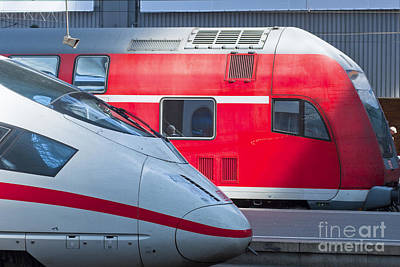 German Trains Poster