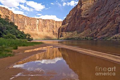 Glen Canyon Reflection Poster by Carol Barrington