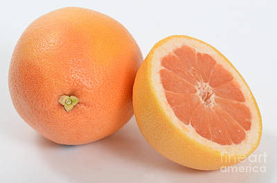 Grapefruit Poster by Photo Researchers, Inc.