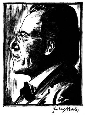 Gustav Mahler (1860-1911) Poster by Granger