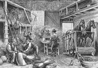 Harvesting, 1879 Poster by Granger