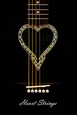 Heart Strings Poster by Brian Davis