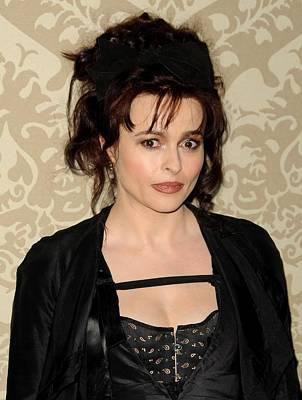 Helena Bonham Carter At Arrivals Poster by Everett