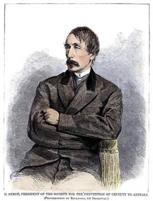 Henry Bergh (1811-1888) Poster by Granger