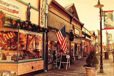 Historic Niles District In California Near Fremont . Main Street . Niles Boulevard . 7d10701 Poster