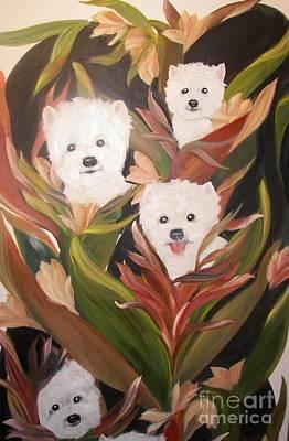 Home Grown Westies Poster by Rachel Carmichael