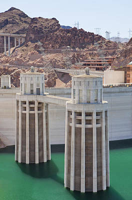 Hoover Dam And Lake Mead Usa Poster