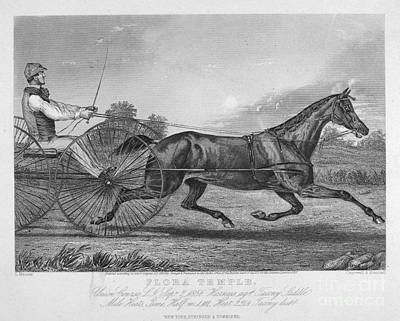 Horse Racing, 1857 Poster by Granger