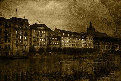 Hotel Schiff Poster by Ron Jones