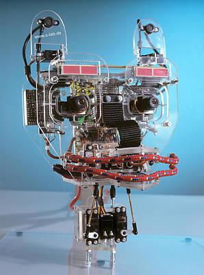 Humanoid Robot Poster by Volker Steger