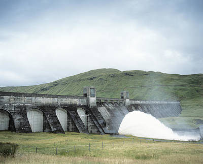 Hydroelectric Dam Poster