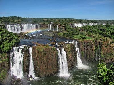 Iguazu Falls Poster by David Gleeson