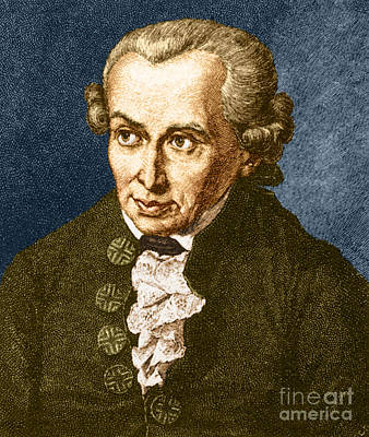 Immanuel Kant, German Philosopher Poster by Photo Researchers