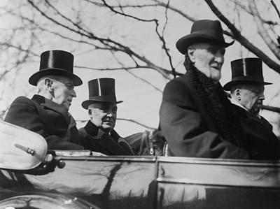 Incoming President Warren G. Harding Poster by Everett