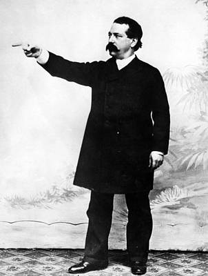 Industrialist Samuel Gompers, President Poster