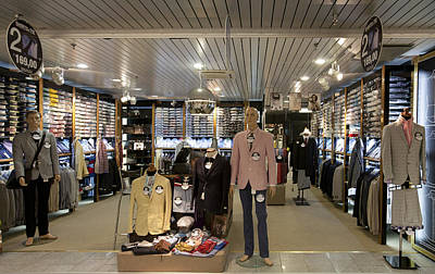 Italian Fashion Shop For Men Tallinn Poster