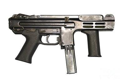 Italian Spectre M4 Submachine Gun Poster