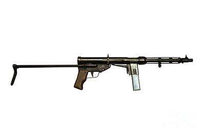 Italian Tz-45 9mm Submachine Gun Poster