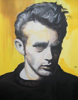 James Dean Poster by Matt Burke