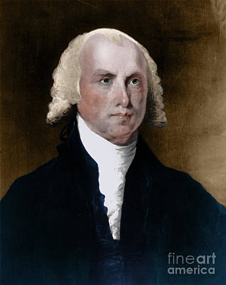 James Madison, 4th American President Poster