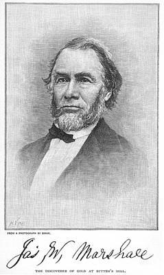 James Wilson Marshall Poster by Granger