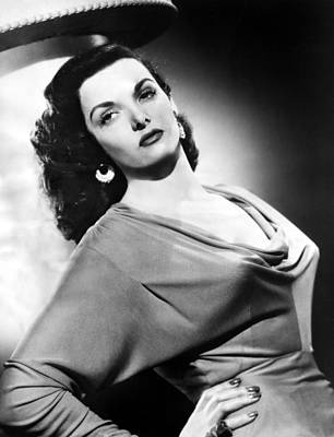 Jane Russell, Ca. Late 1940s Poster