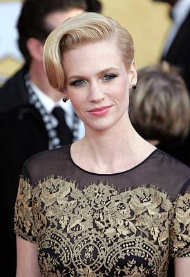 January Jones Wearing A Carolina Poster by Everett