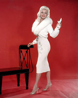 Jayne Mansfield, 1950s Poster