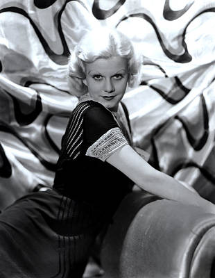Jean Harlow, Mgm, 1930s Poster